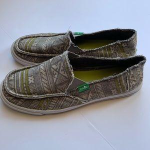 Sanuk slip on shoes - 8